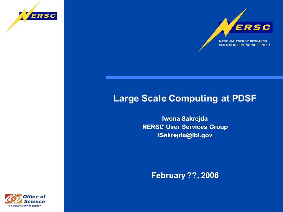 2 Outline Role of PDSF in HENP computing.
