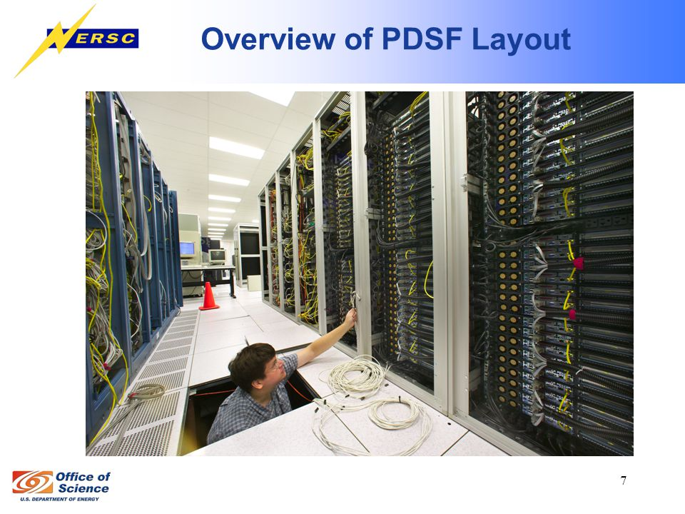 7 Overview of PDSF Layout