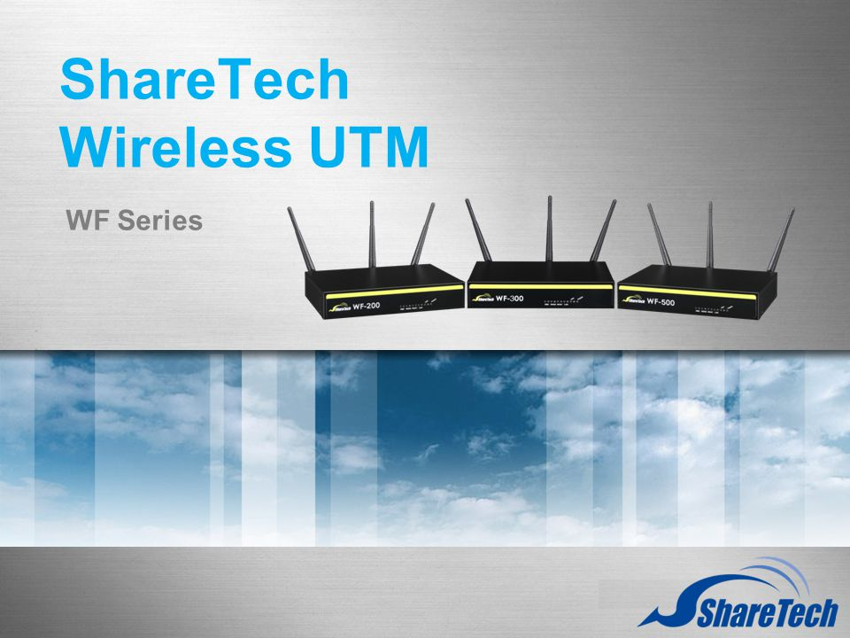 ShareTech Wireless UTM WF Series