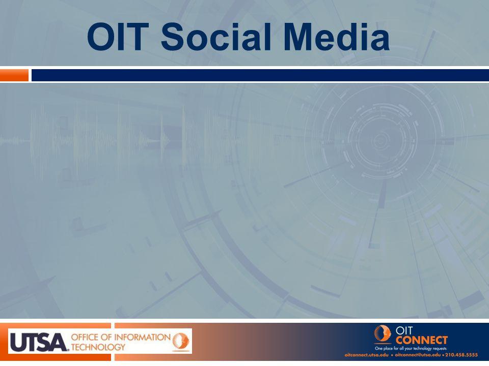 OIT Social Media