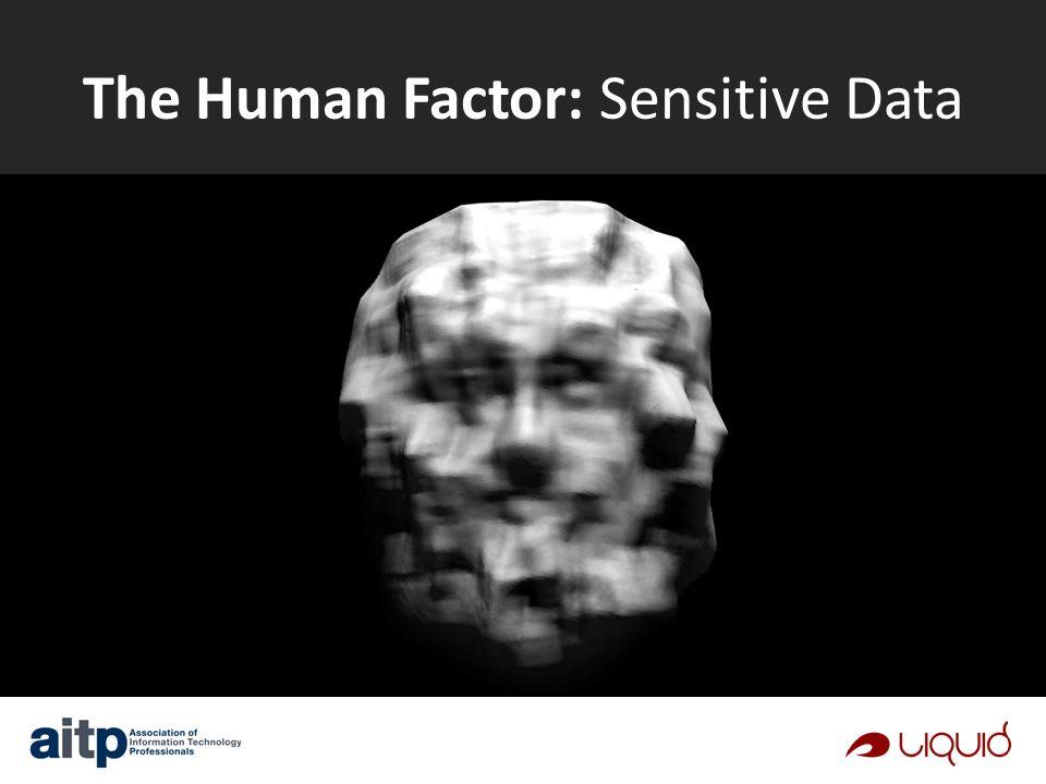 The Human Factor: Sensitive Data