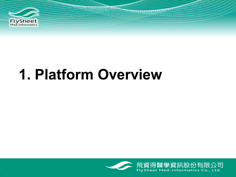 1. Platform Overview 5