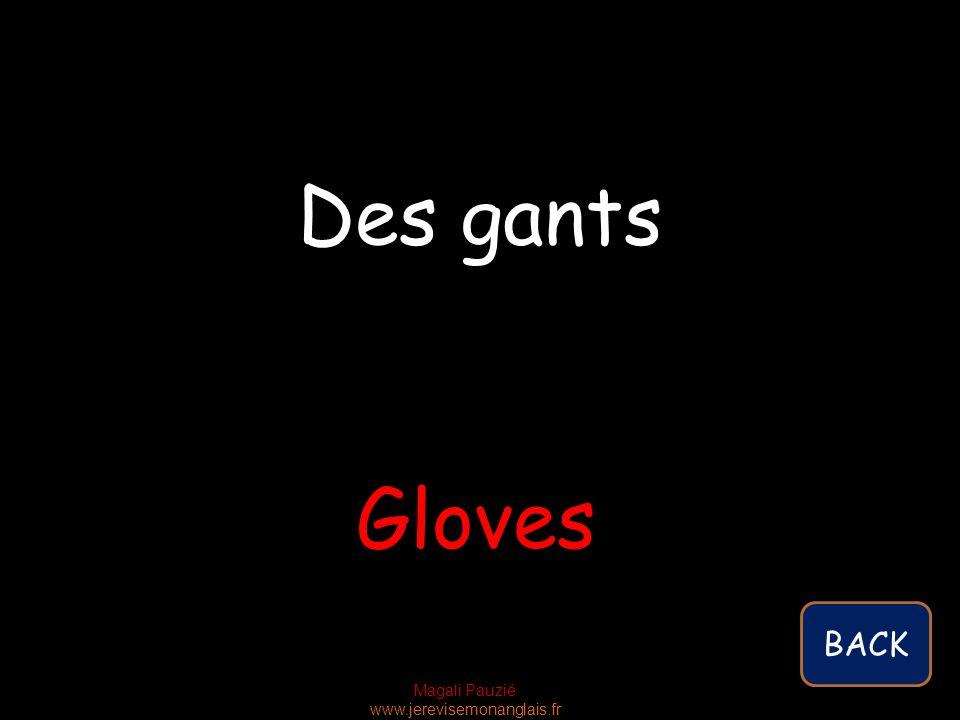Magali Pauzié www.jerevisemonanglais.fr Gloves Des gants BACK