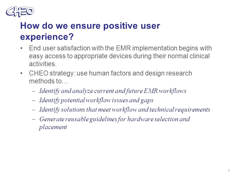 How do we ensure positive user experience.