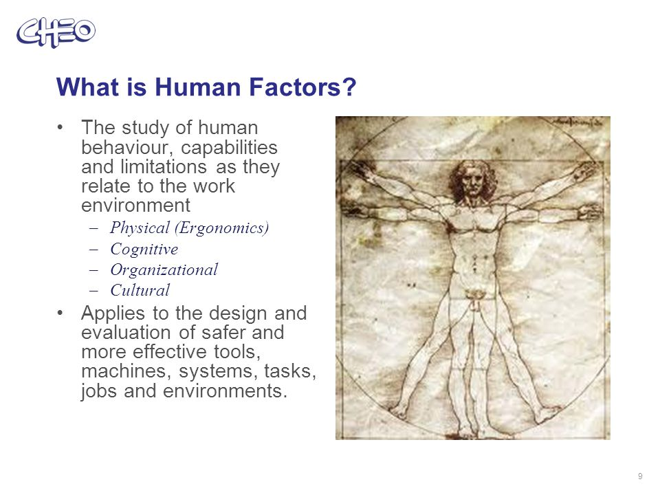 What is Human Factors.