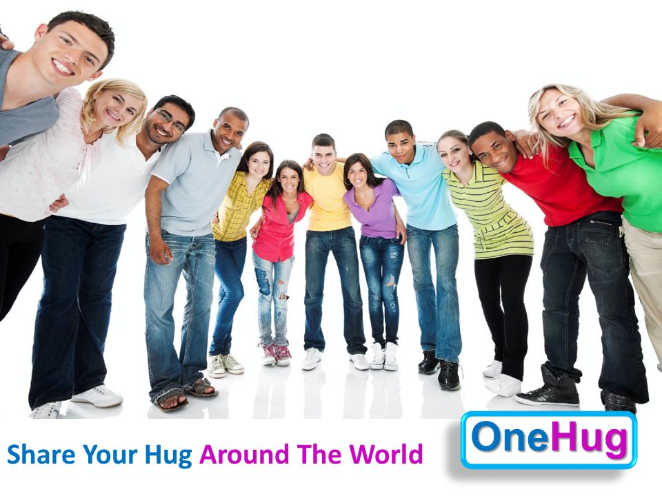 Share Your Hug Around The World OneHug