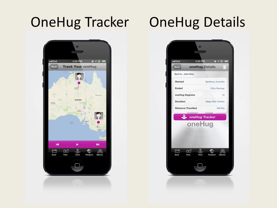 OneHug TrackerOneHug Details
