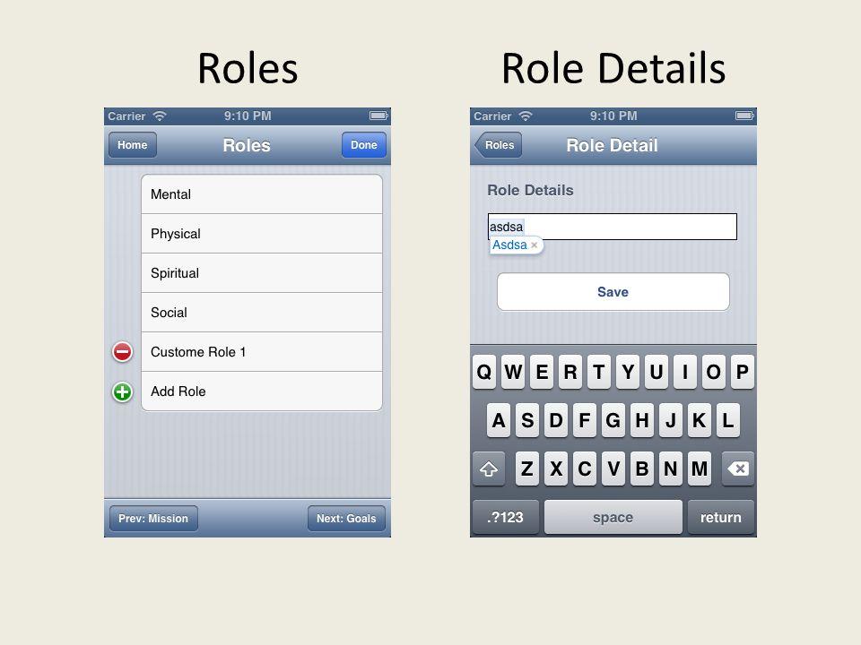 RolesRole Details