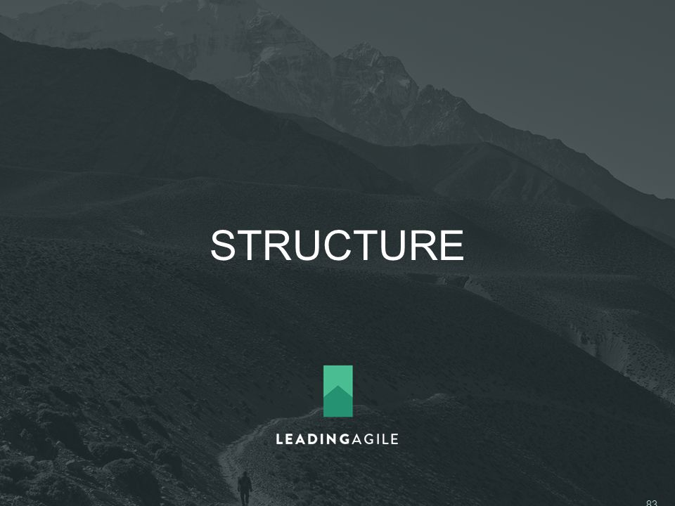 STRUCTURE ©2014 LeadingAgile LLC **ALL RIGHTS RESERVED** 83