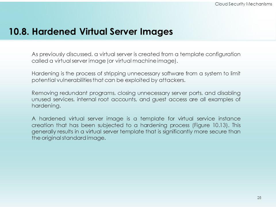 Cloud Security Mechanisms 10.8.