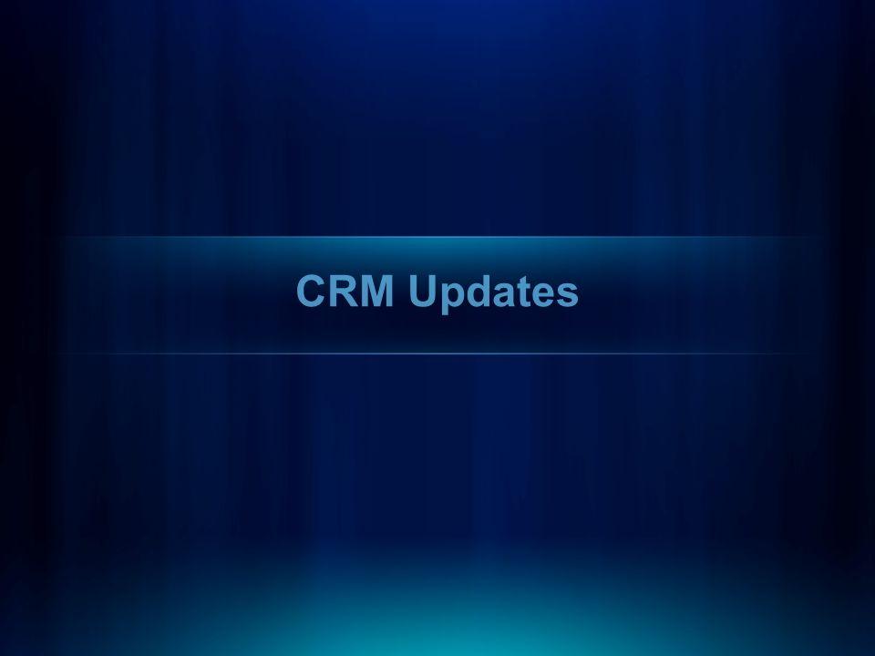CRM Updates