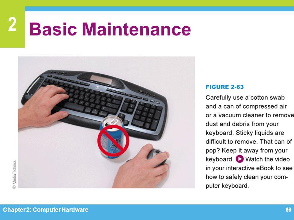 2 Basic Maintenance Chapter 2: Computer Hardware66