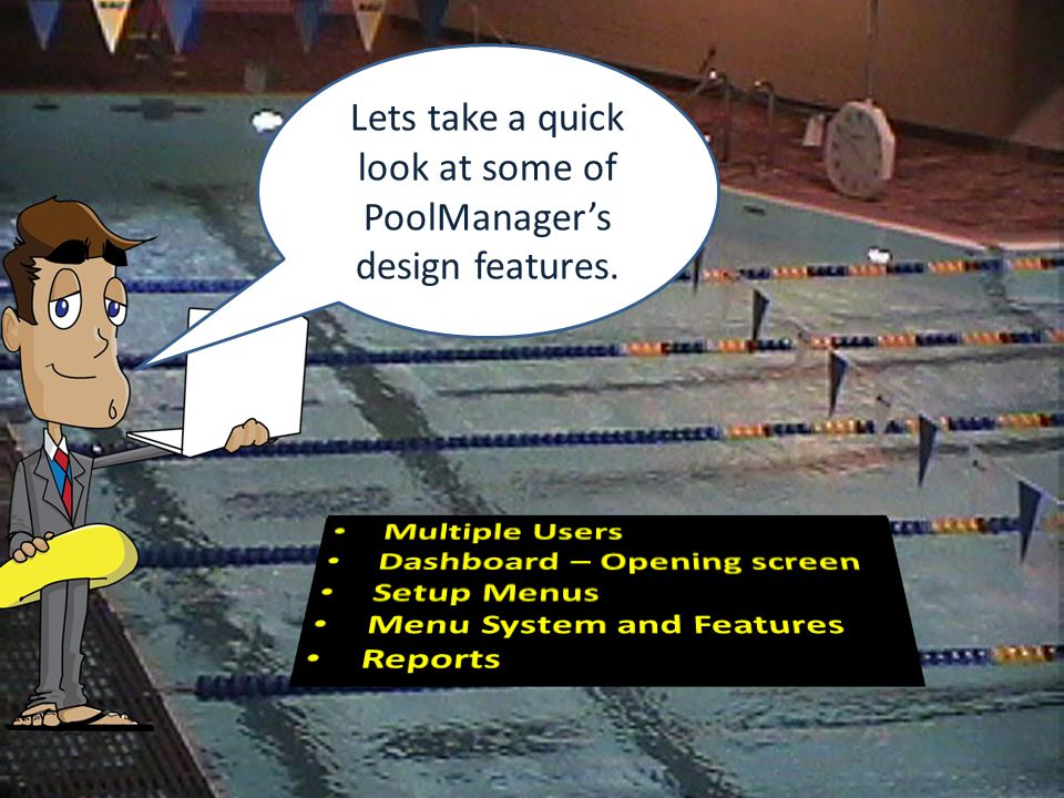 Lets take a quick look at some of PoolManager's design features.