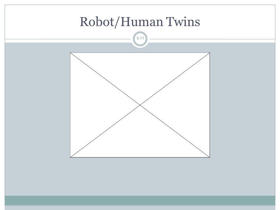 Robot/Human Twins 6-11