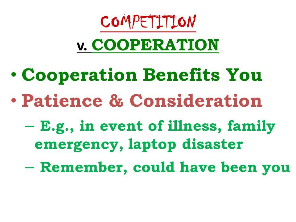 COMPETITION v.