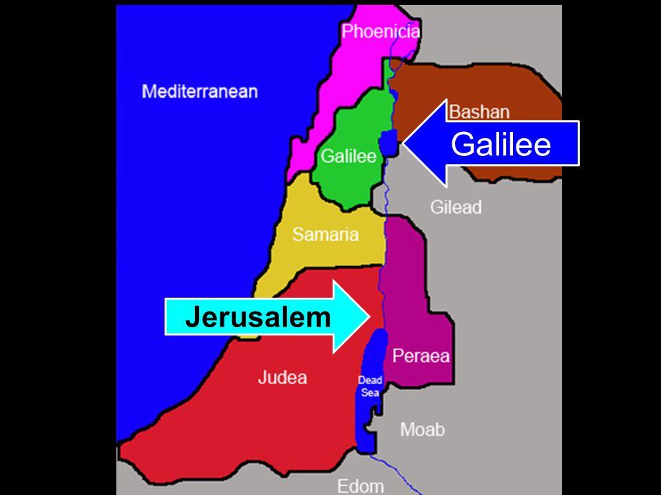 Jerusalem Galilee