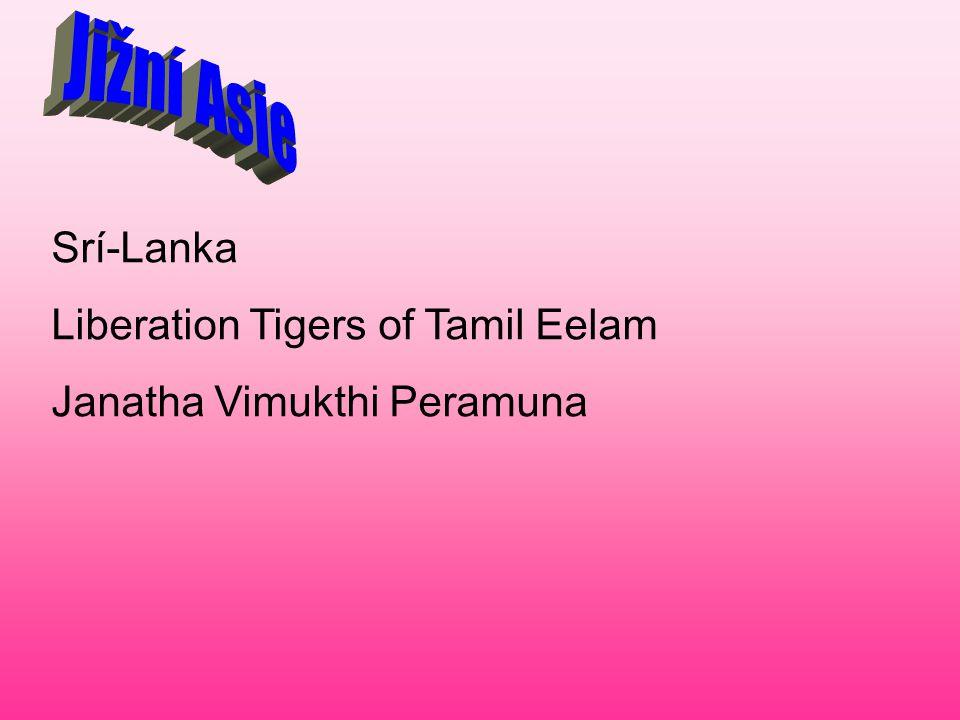 Srí-Lanka Liberation Tigers of Tamil Eelam Janatha Vimukthi Peramuna