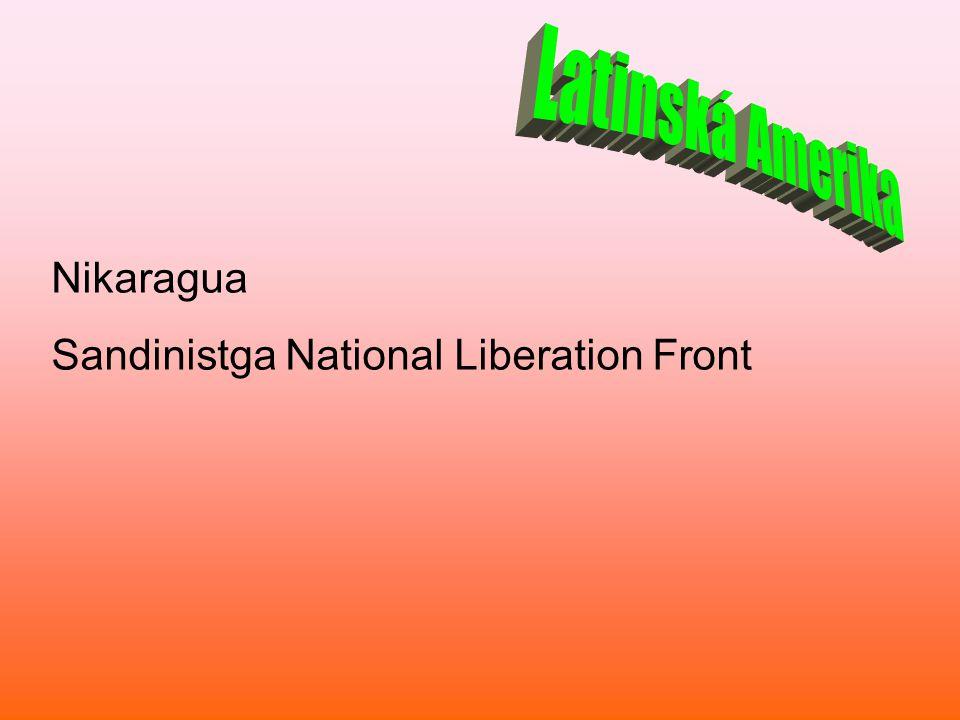 Nikaragua Sandinistga National Liberation Front