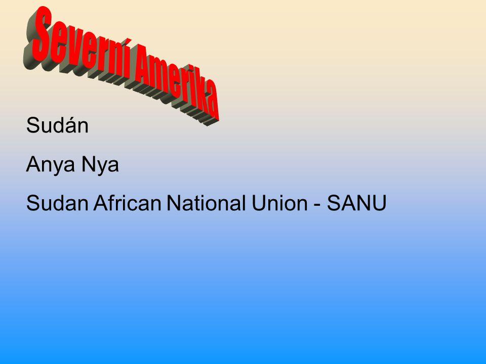 Sudán Anya Nya Sudan African National Union - SANU