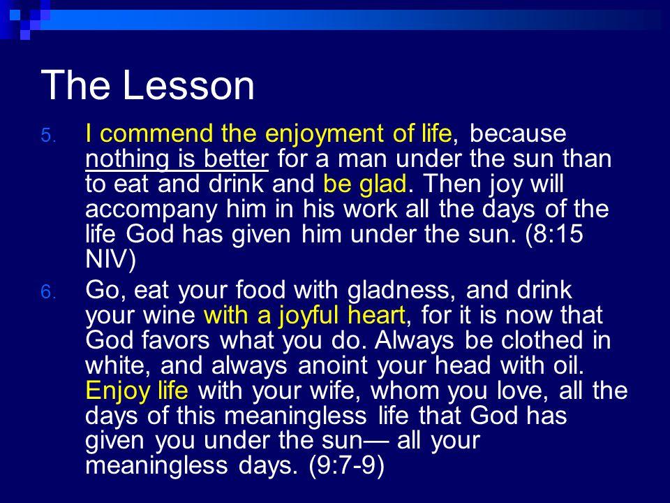 The Lesson 4.