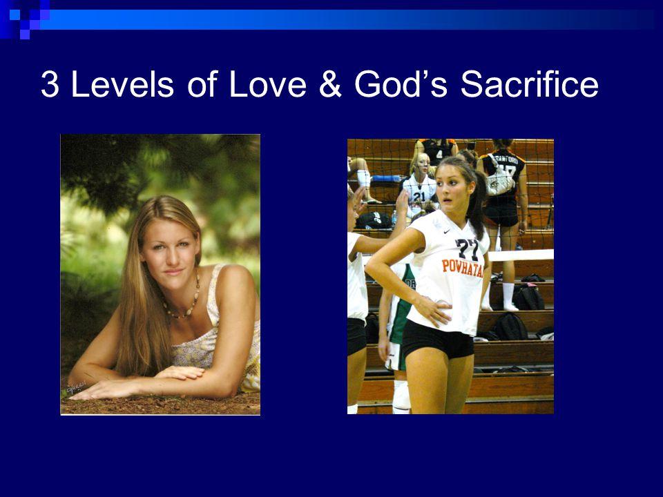 3 Levels of Spiritual Love 1. Love thy neighbor as thyself. 2.