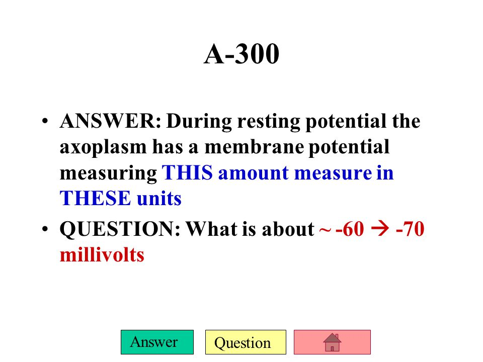 Question Answer C-300 ANSWER: Proper name for the plasma membrane indicated by the arrow.