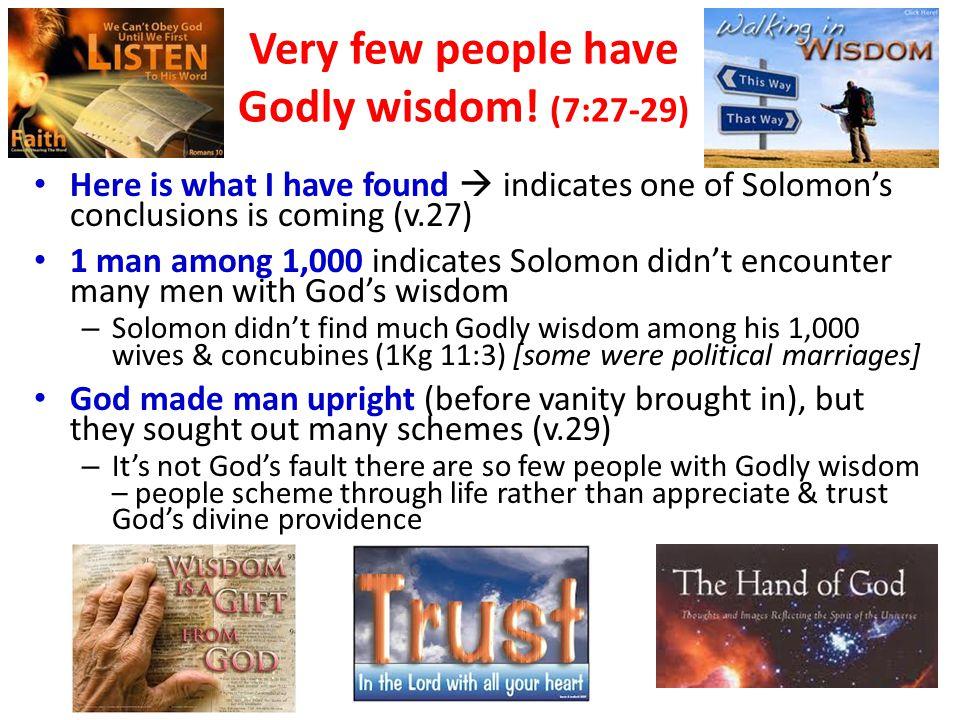 Wisdom plans to prevent problems! G