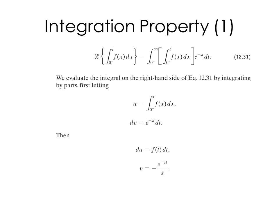 Integration Property (1)