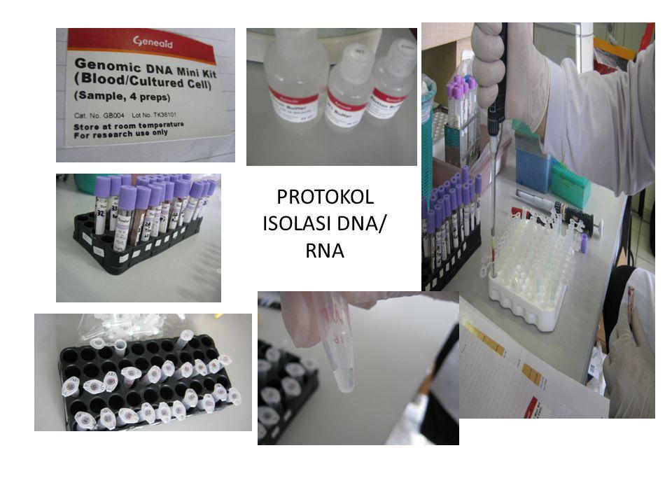 PROTOKOL ISOLASI DNA/ RNA