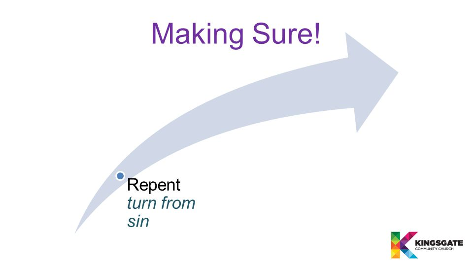 Repent turn from sin