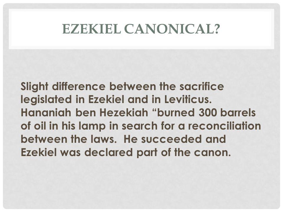 EZEKIEL'S COMMISSION (CONT.) Ezek 2:5 Whether they listen or fail to listen….