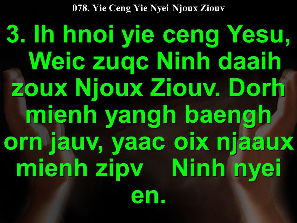 078. Yie Ceng Yie Nyei Njoux Ziouv 3.