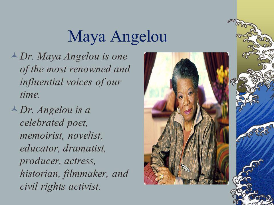"Maya Angelou Poem ""Life Doesn't Frighten Me"""