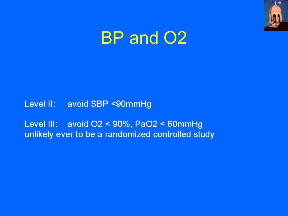 BP and O2