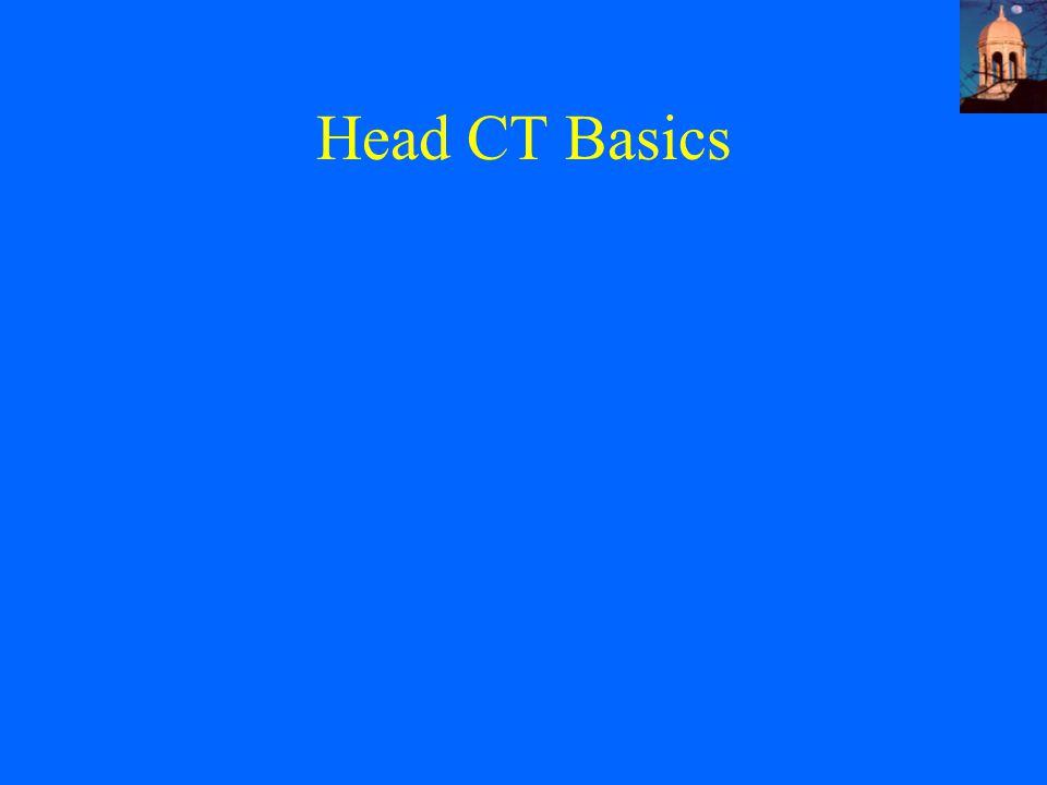 Head CT Basics