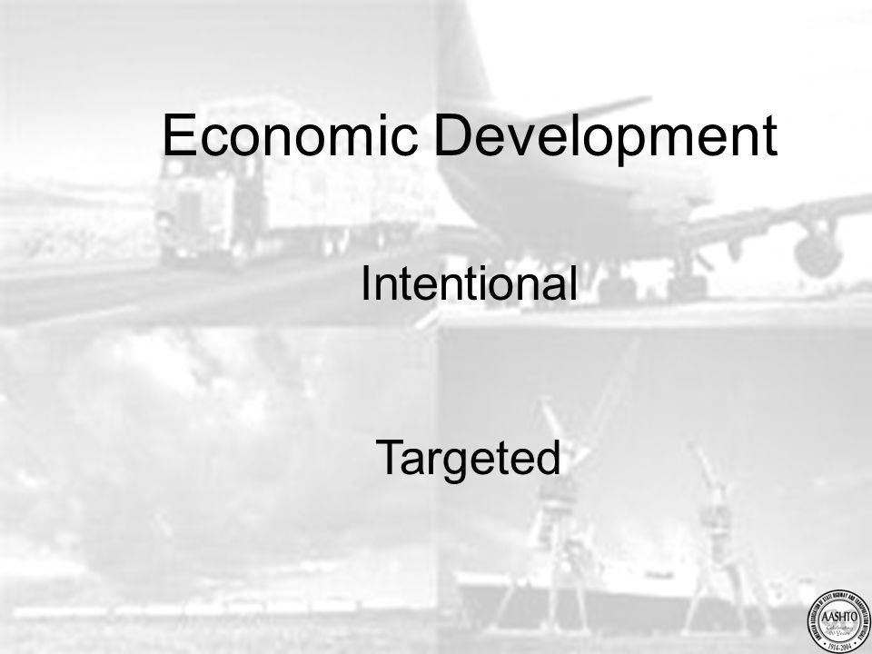Economic Development Intentional Targeted