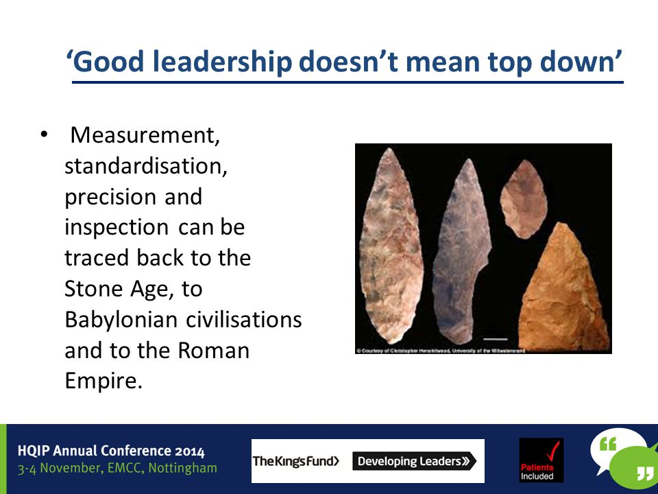 'Good leadership doesn't mean top down'