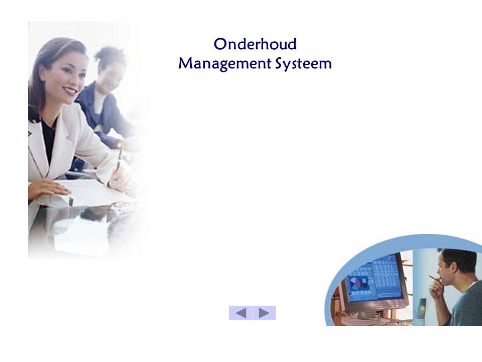 Onderhoud Management Systeem