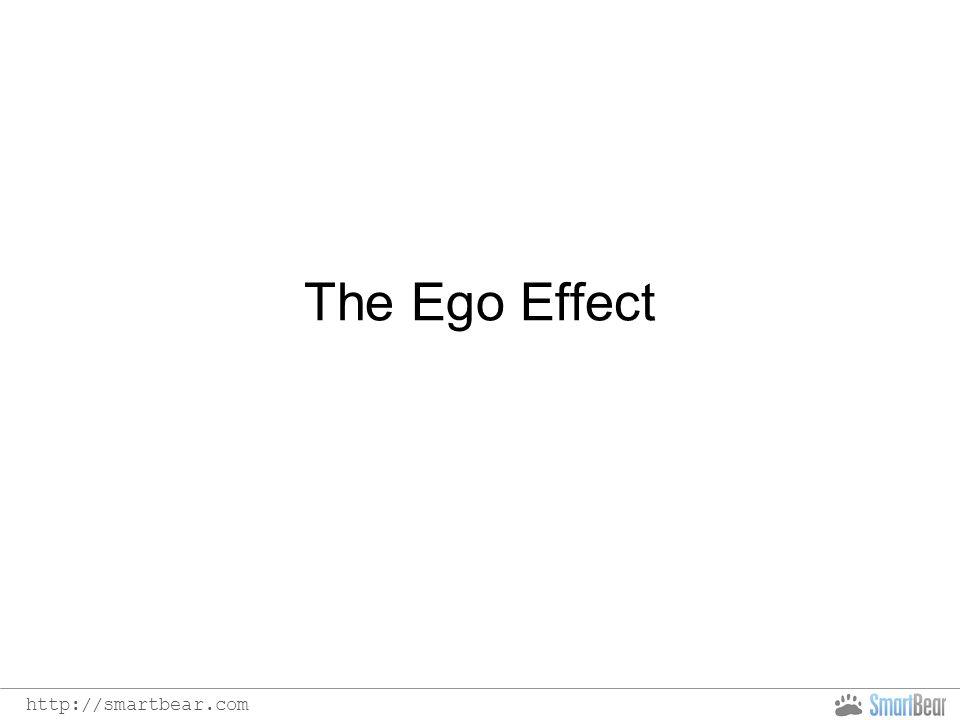 http://smartbear.com The Ego Effect