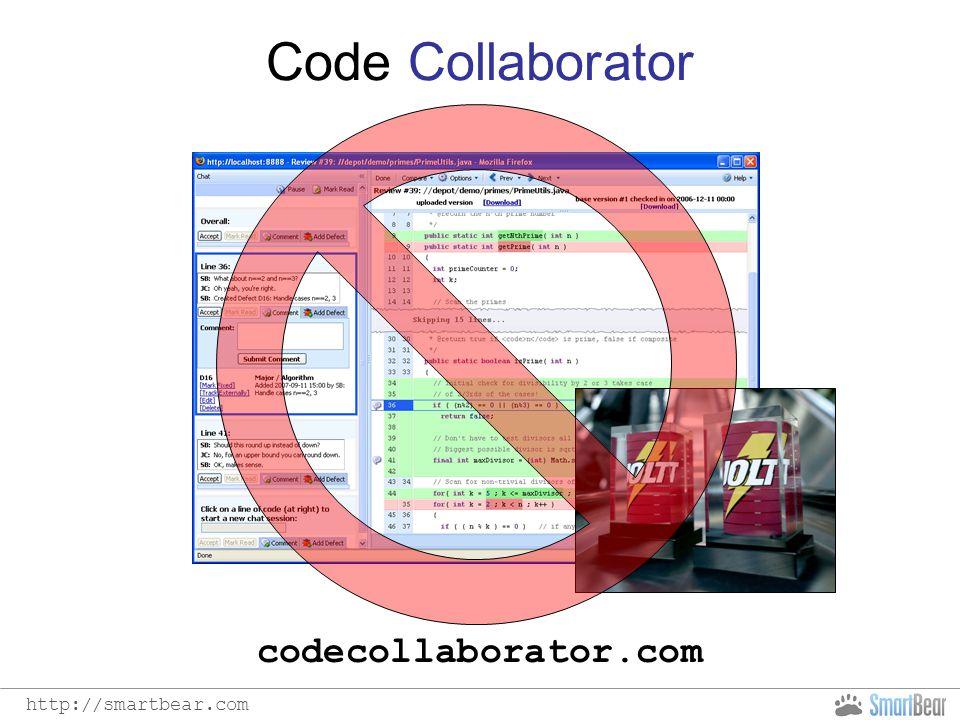 http://smartbear.com Code Collaborator codecollaborator.com