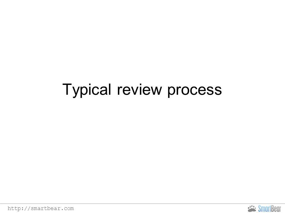 http://smartbear.com Typical review process