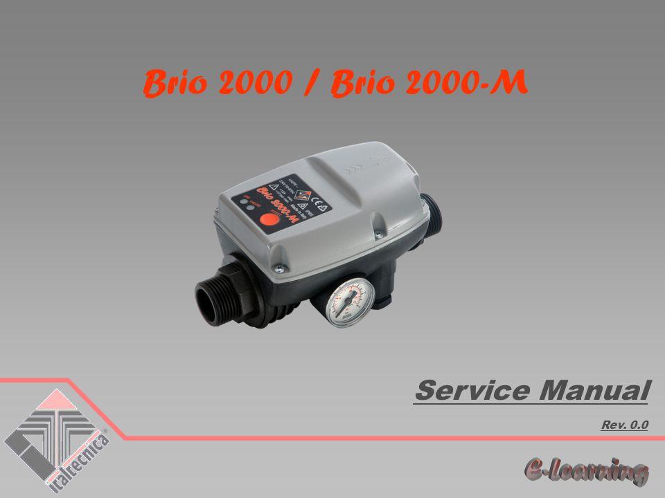 Brio 2000 / Brio 2000-M Service Manual Rev. 0.0
