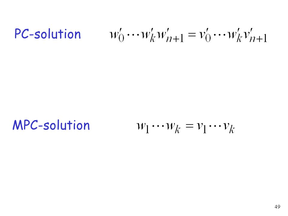 49 PC-solution MPC-solution
