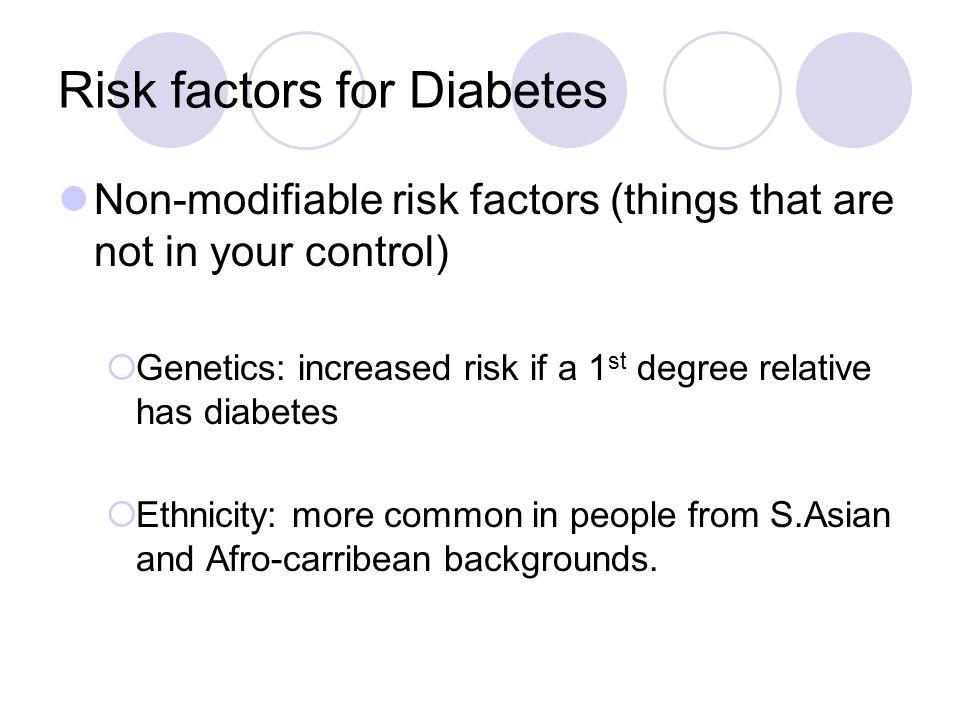 Ive already got diabetes so theres no point?.NO.
