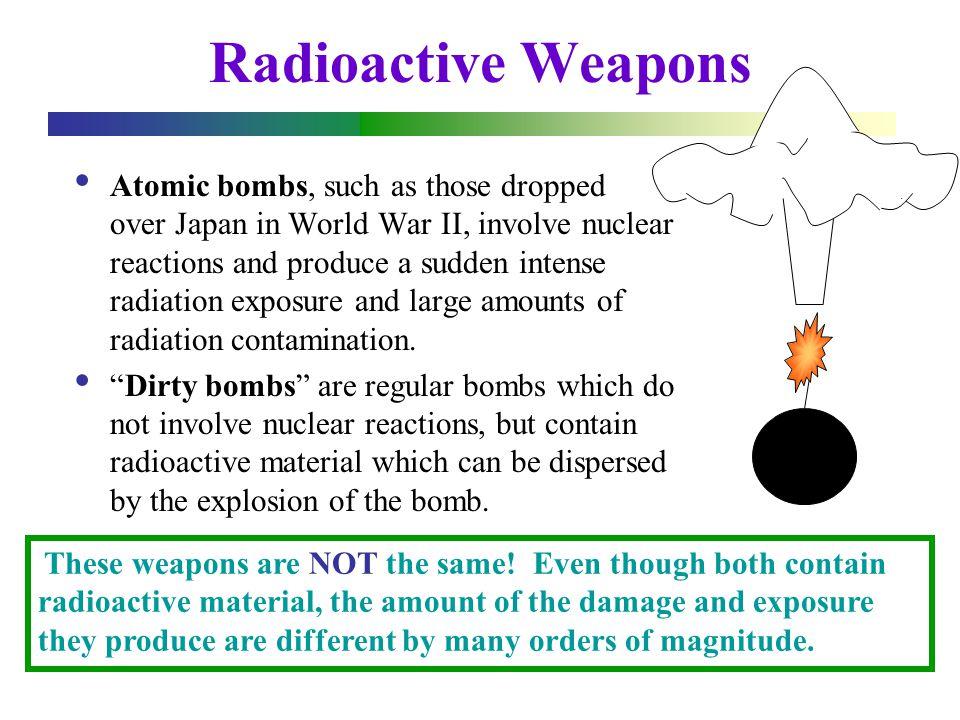 Dirty Bombs