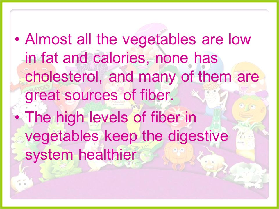 Eat a rainbow of colorful fruits and vegetables every day to get the full range of health benefits.