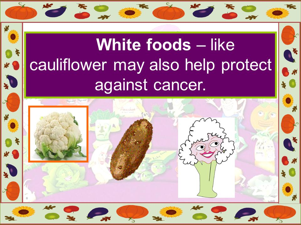 The garlic and onion odors are due to phytochemicals.