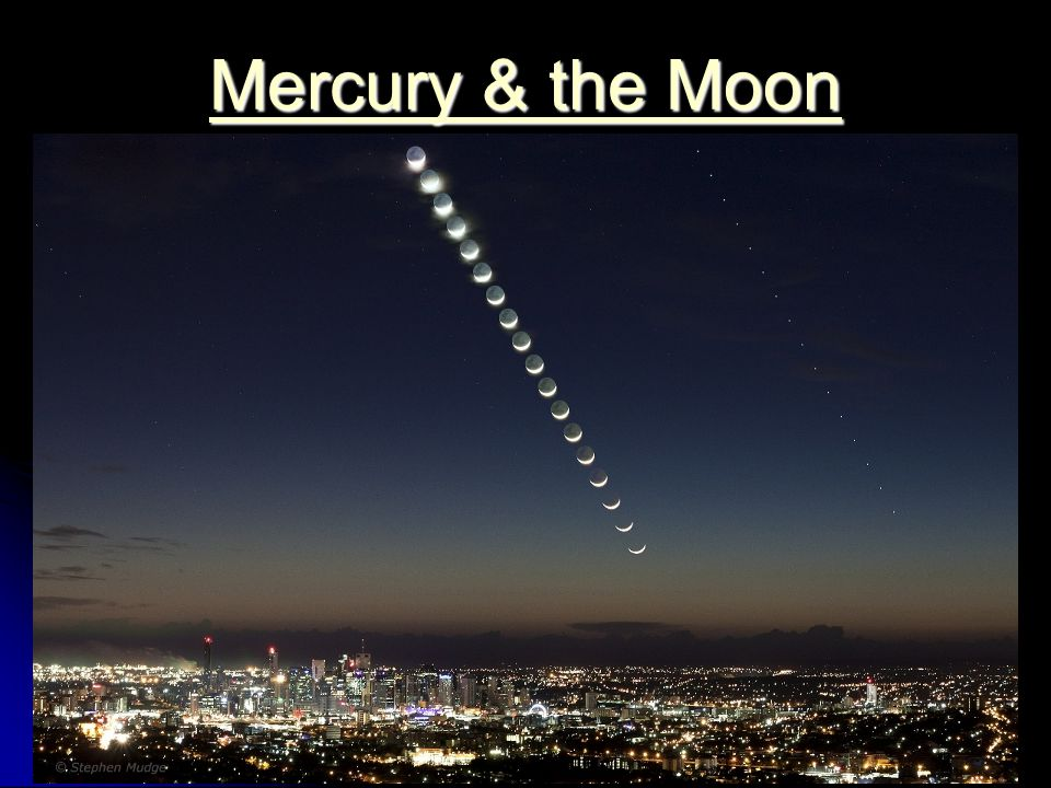 Mercury & the Moon Mercury & the Moon