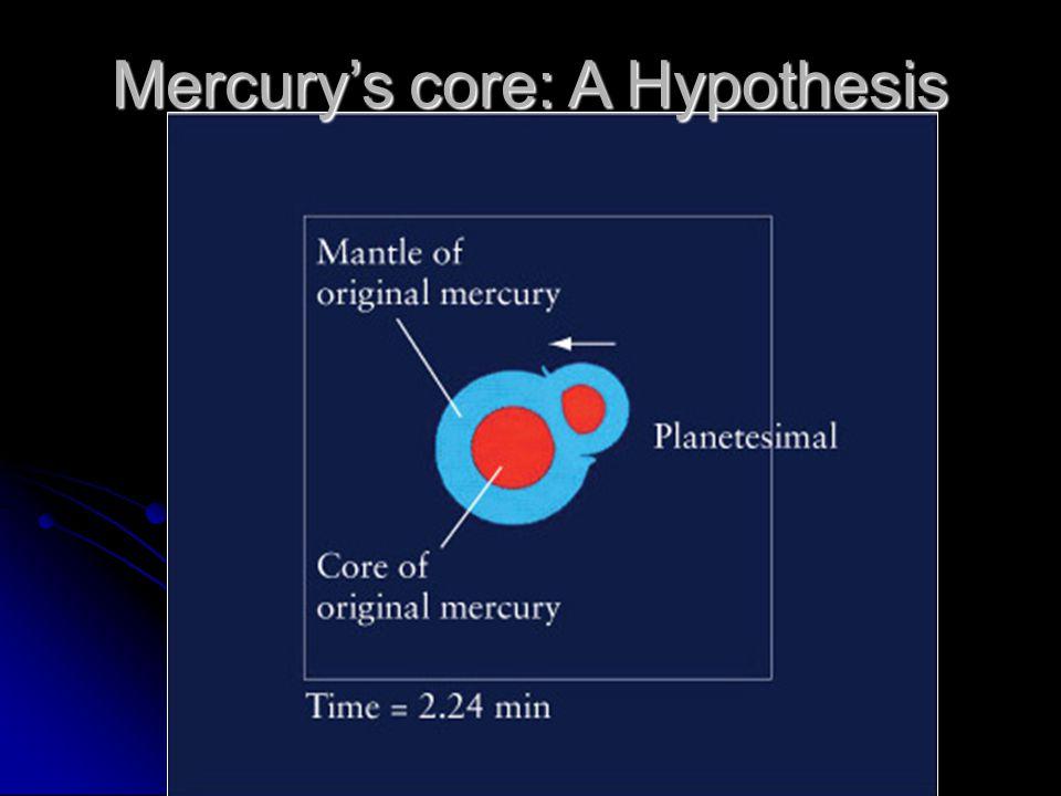 Mercury's core: A Hypothesis