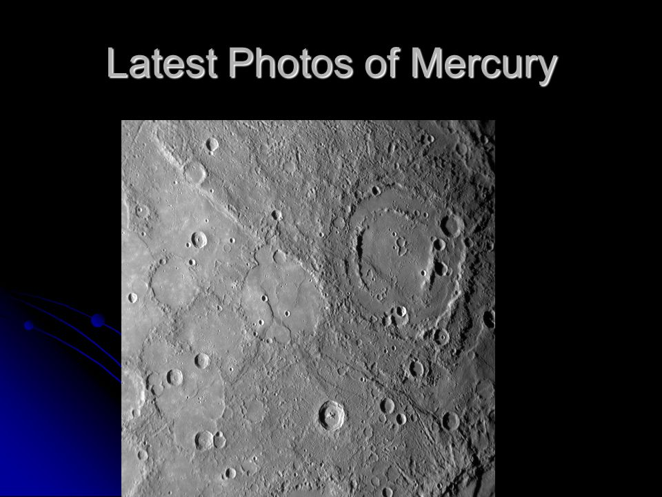 Latest Photos of Mercury
